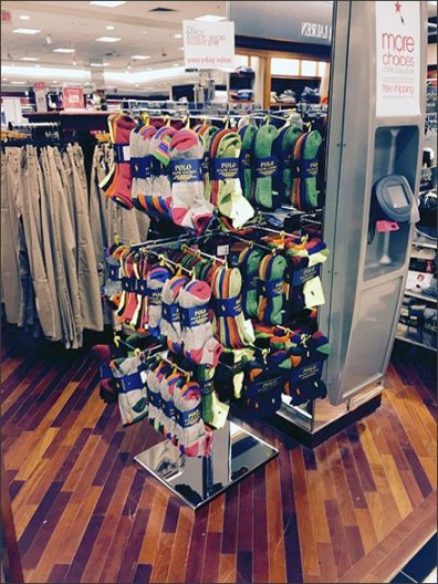 Polo Everyday Value Sock Display 1