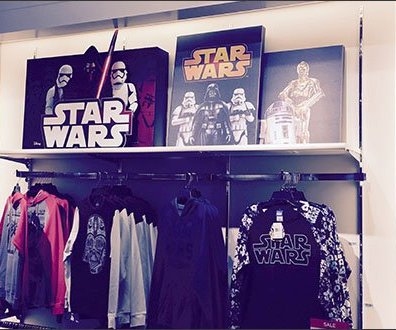 Star Wars Shelf Edge Merchandising 2
