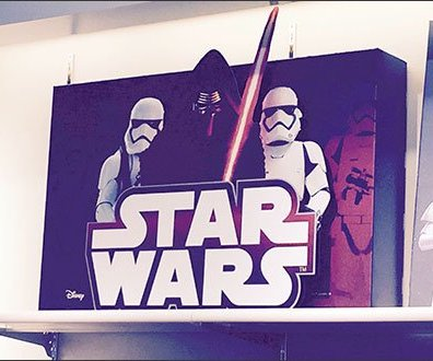 Star Wars Shelf Edge Merchandising 3