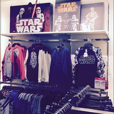 Star Wars On-Shelf Granular Merchandising
