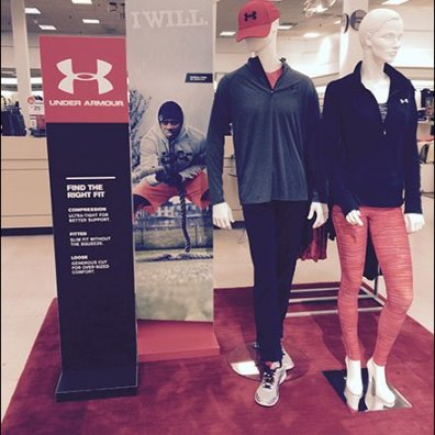 Under Armour Seasonal Campaign