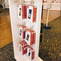 Verizon® T-Shape Display WithBilateral Symmetry