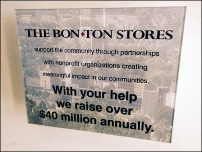 Bon-Ton Geo-Tagged Store Welcome