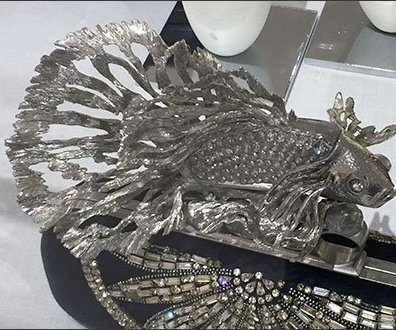Alexander McQueen Museum Case Aquarium 2