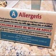 Retail Allergens Alert For Children