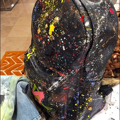 Art is Fashion Backpack