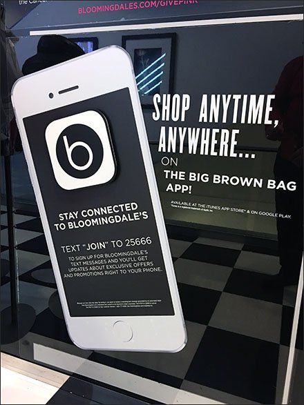 Bloomingdale's Anytime and Anywhere