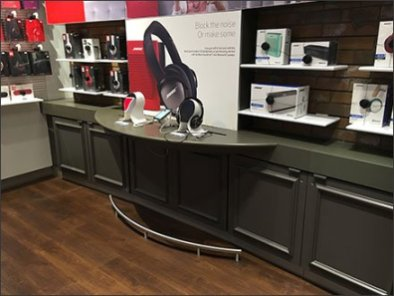 Bose® Tavern Footrail Supports Headphone Sales