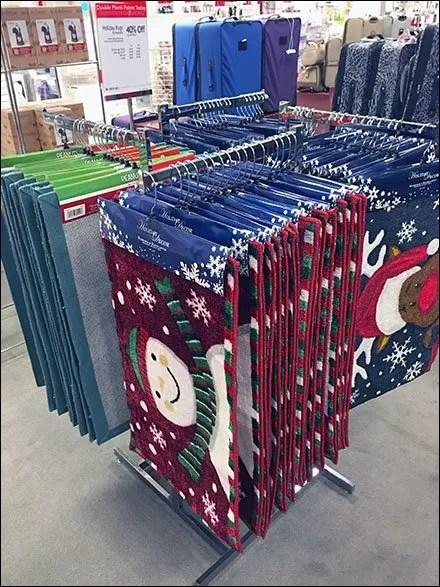 Christmas Floor Mat Sales Trending in Retail