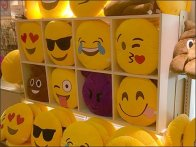 Emoticon Sales At Mall Shelf Edge 2