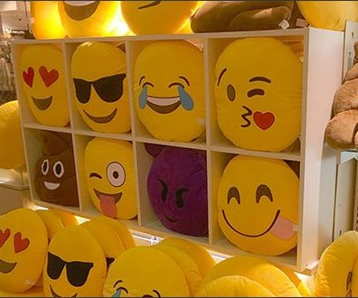 Emoticon Sales At Mall Shelf Edge 2