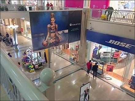 Fabletics® Horizontal vs Vertical Mall Navigation