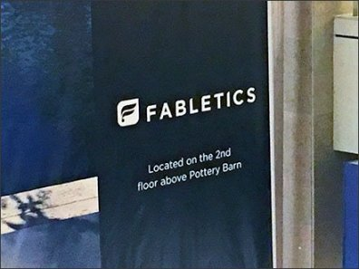 Fabletics Mall Banner 3