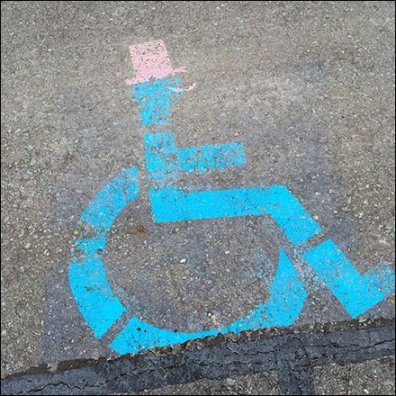Handicap Parking for Formalwear