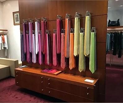 Hermes Hooked Necktie Color Array