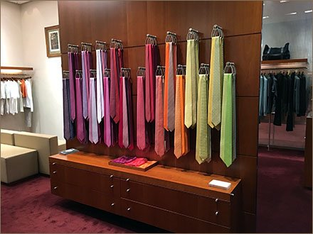 Hermes Hooked Necktie Color Array