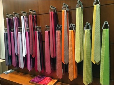 Hermes Necktie Color Array 2