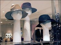Long-Neck Headforms for Hats Display