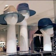 Long-Neck Headforms for Hats