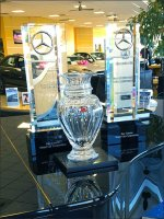 Mercedes Benz Grand Piano Retail Staging