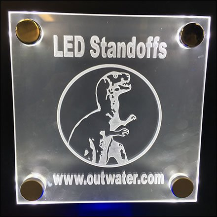 Outwater Plastics Fixture Showroom - Outwater LED Standoffs Preview