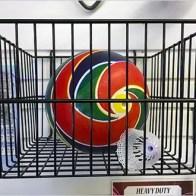 Outwater Plastics Slatwall Ball Fixture 2