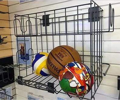 Outwater Plastics Slatwall Ball Fixtures Aux