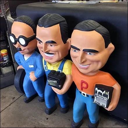 Ageless Pep Boys® In-Store Branding