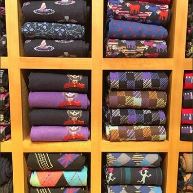 Robert Graham Sock SElection Cubicals 3