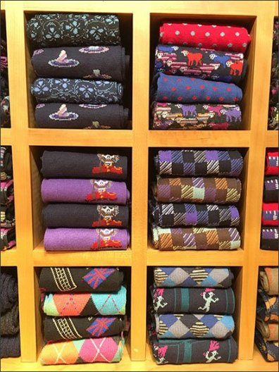 Robert Graham Sock Selection Outfitting