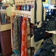 Peg Merchandising Scarves