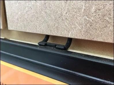 Sign Hangers Patterned Slatwall. 3