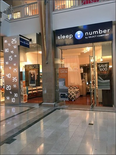 Sleep Number Store Branding 3