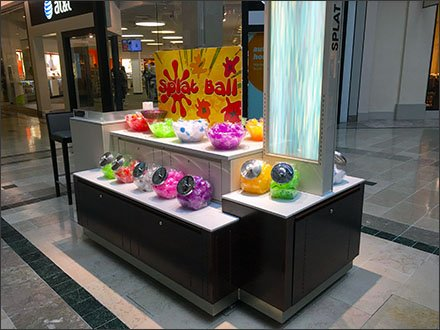 Splat Ball Apothecary at the Mall