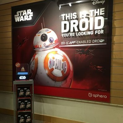 Star Wars Droid by Sphero Closeup