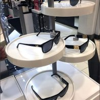 Merchandising Sunglasses on a Platter