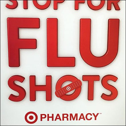 Target One-Stop-For-Flu-Shot Bandaid