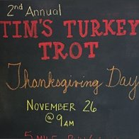 Turkey Trot Thanksgiving Chalkboard 2