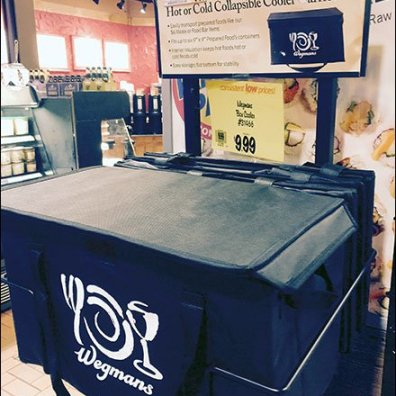 Wegmans Collapsable Thermal Cooler 2
