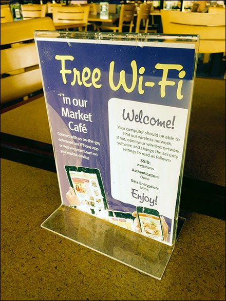 Free Retail WiFi and How To Access It