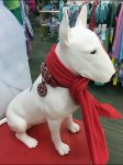 Target Bullseye Pet Collar Charm