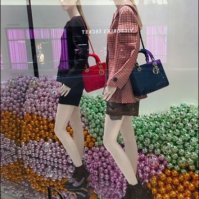 Dior Corners The Christmas Ornament Market