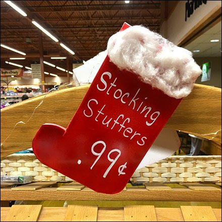 Do-It-Yourself Stocking Stuffers Sign