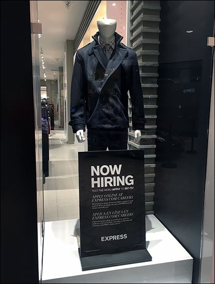 Express Now Hiring Men