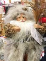 Father Christmas at Neiman Marcus Closeup