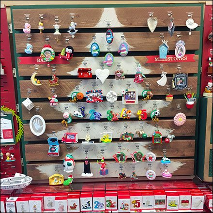 Pallet Rack and Pallet Outfitting - Faux Pallet Christmas Ornament Display