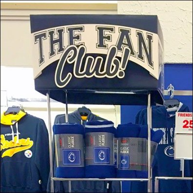 Football Fan Club Retail Fixtures 2