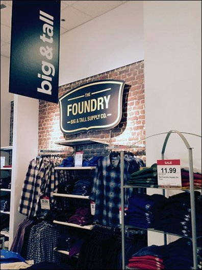 Foundry® Big & Tall Vertical Banner