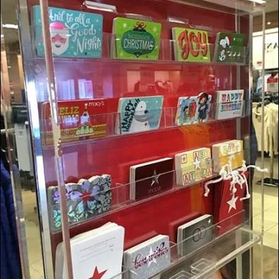 Gift Card Ledges At Macys 2