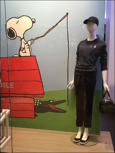 Lacoste Crocodile Joins the Peanuts Gang